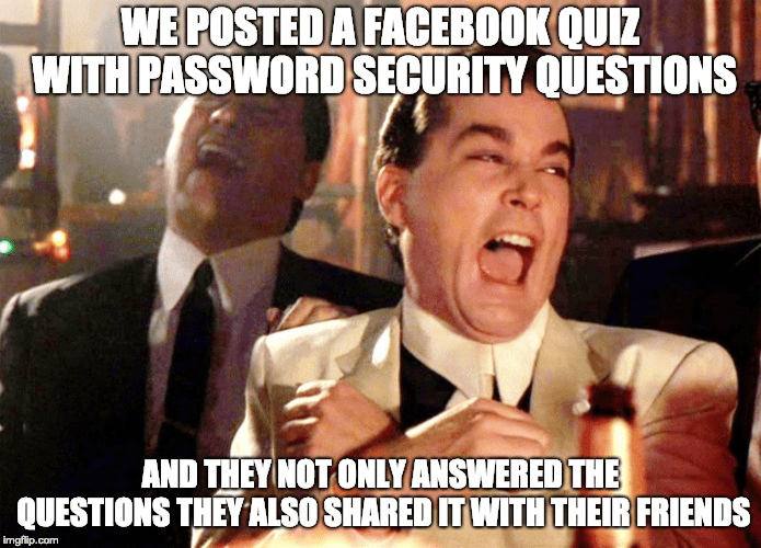 Social Media Games, Quizzes, Phishing & Security!