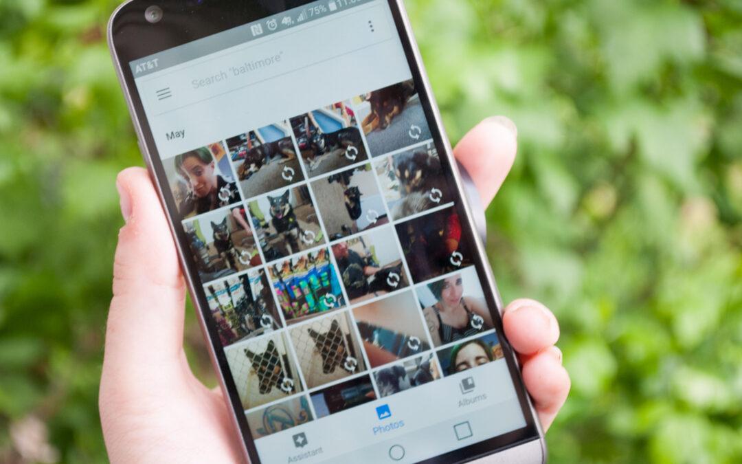 DYI – How To Back Up & Keep My Phone Photos!