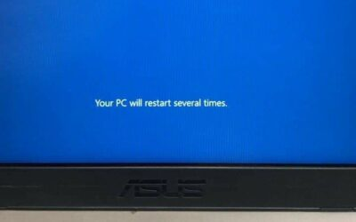 Working on updates…Don't turn off your PC